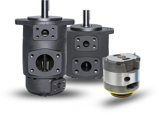 SQP Series Vane Pumps with Lower Noise