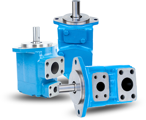V Series Vane Pumps with Lower Noise